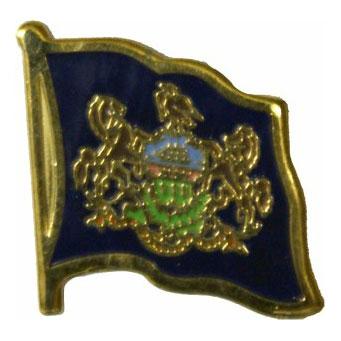 Pennsylvania Flag Lapel Pin