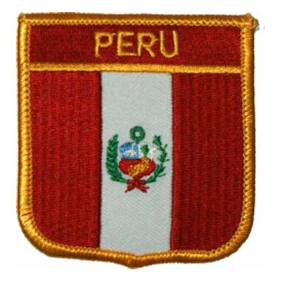Flag of Peru Patch