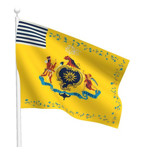 3ft x 5ft Philadelphia Light Horse Flag
