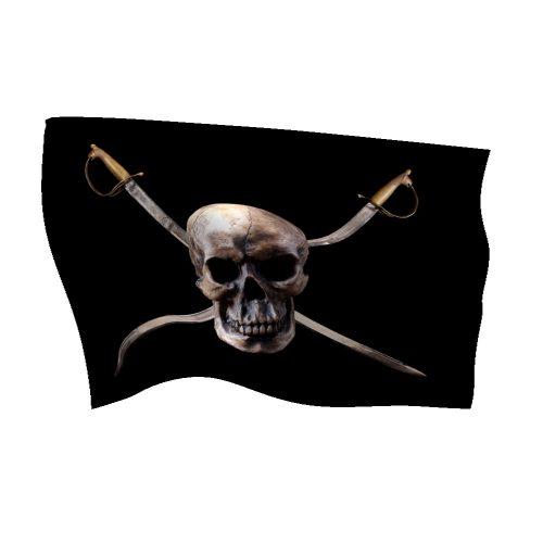 Nylon Pirate Flag