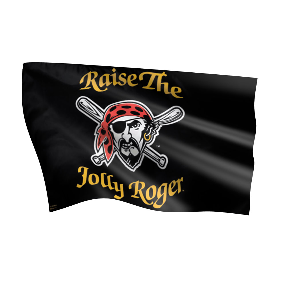 Pittsburgh Pirates-Jolly Roger-Flag