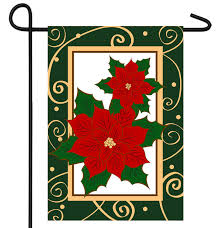 Poinsettias Banner