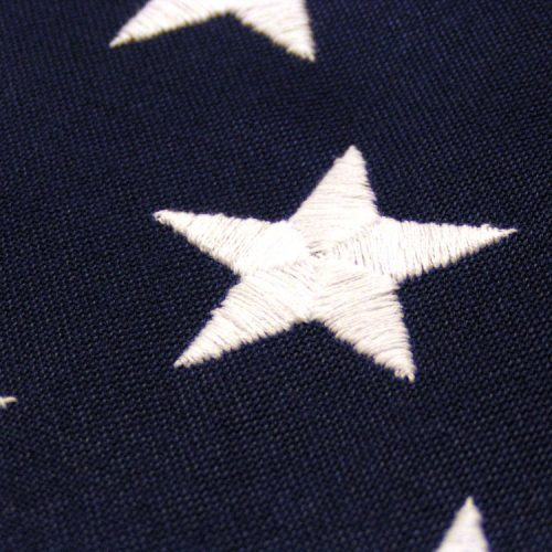 2-Ply Spun Polyester American Flags