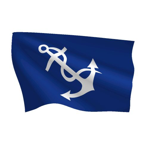 12in x 18in Port Captain Flag