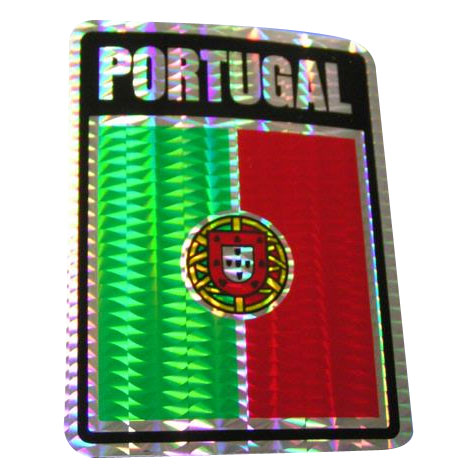 Vinyl Metallic Portugal Decal