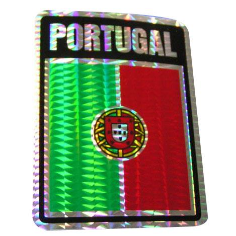 Vinyl Metallic Portugal Decal