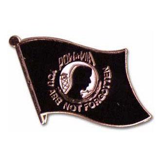 POW / MIA Flag Lapel Pin