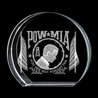 POW/MIA Crystal Circle