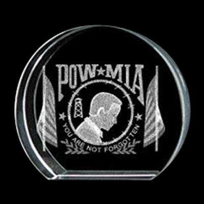 POW/MIA Crystal Circle