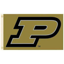Purdue University Polyester Flag