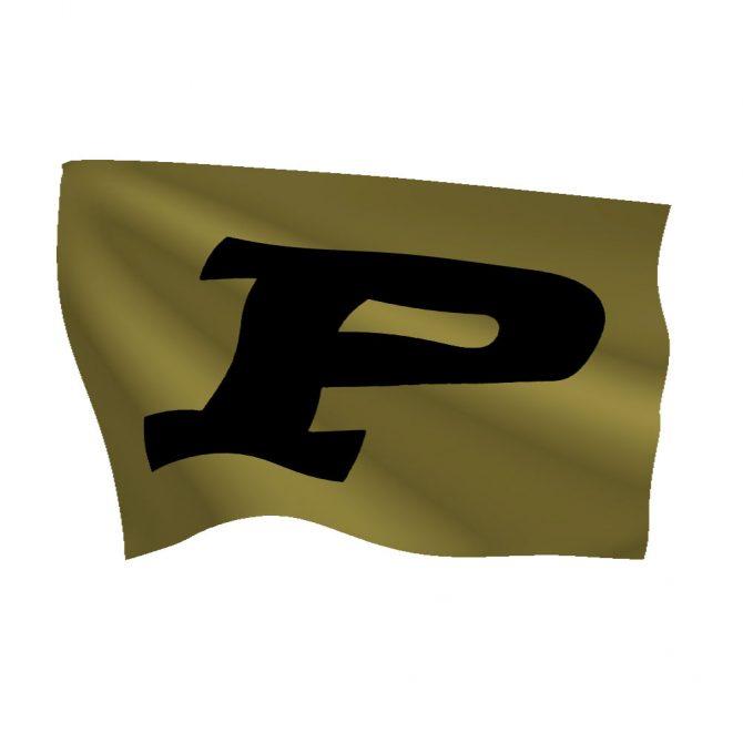 Purdue University Flag