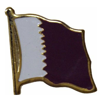 Qatar Flag Lapel Pin