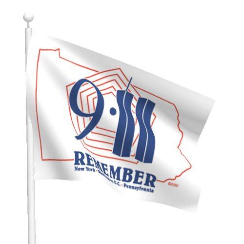 Remember 911 Flag