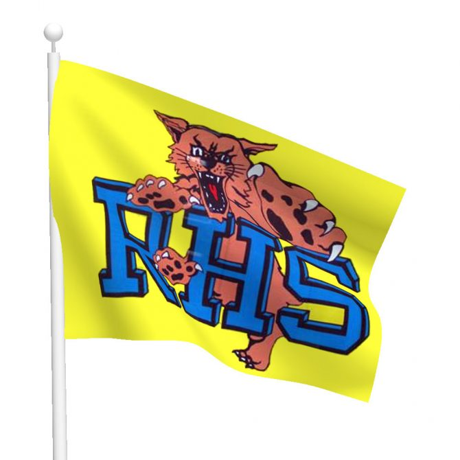 Riley Wildcats Flag