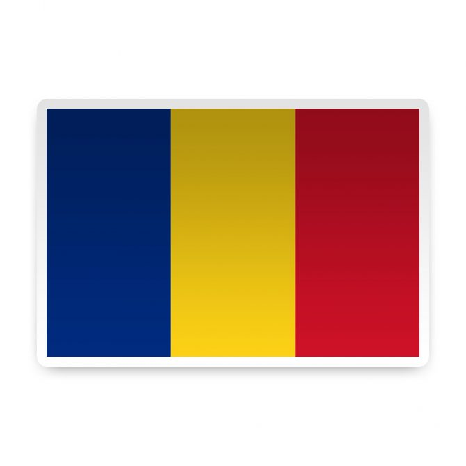 Romania Sticker