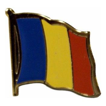 Romania Flag Lapel Pin