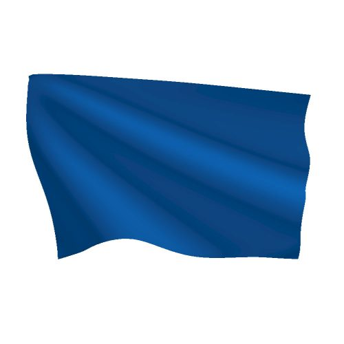 Royal Blue Flag