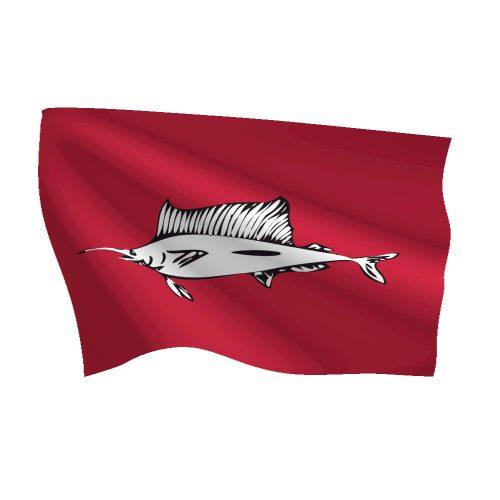 12in x 18in Sailfish Flag