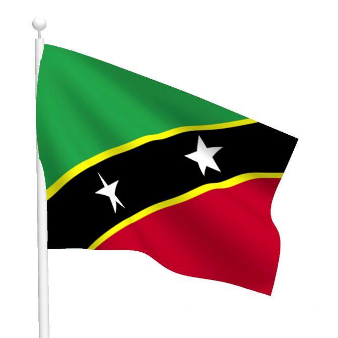 Saint Kitts and Nevis Flag