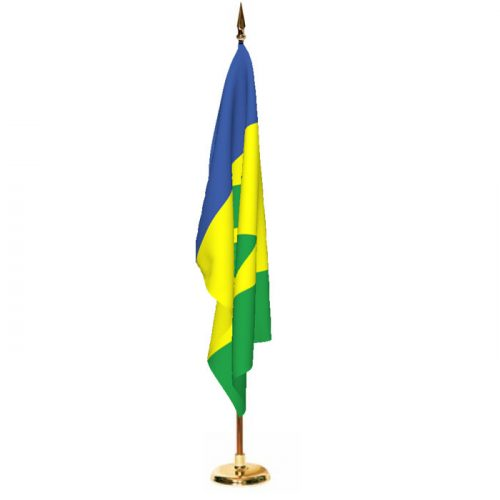 Indoor Saint Vincent and The Grenadines Ceremonial Flag Set