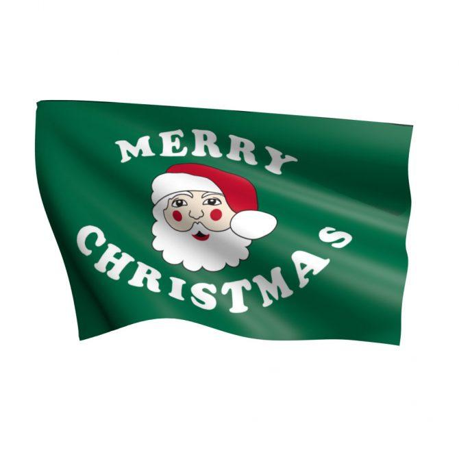 3ft x 5ft Santa Flag