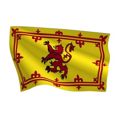Scotland Rampant Lion Flag