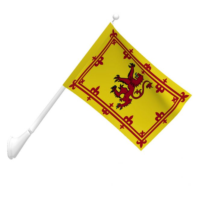Scotland Rampant Lion Flag