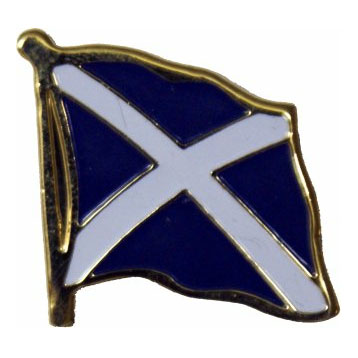 Scotland Saint Andrews Cross Flag Lapel Pin