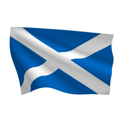 Scotland Saint Andrews Cross Flag