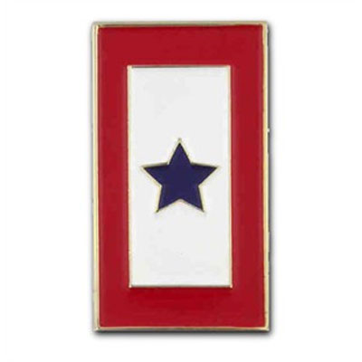 Blue Star Lapel Pin