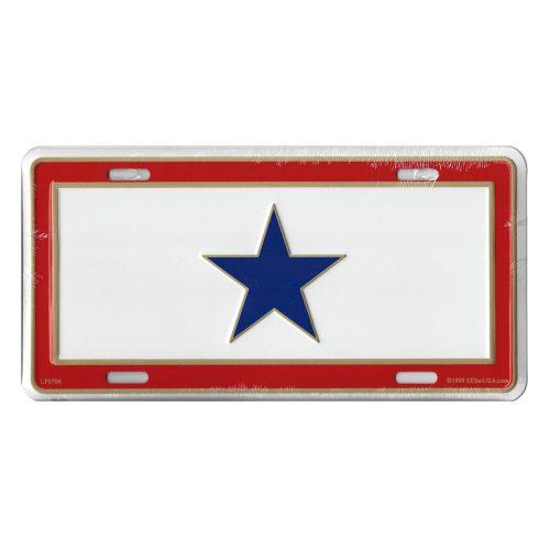 Service Star License Plate
