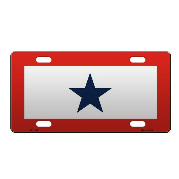 Service Star License Plate