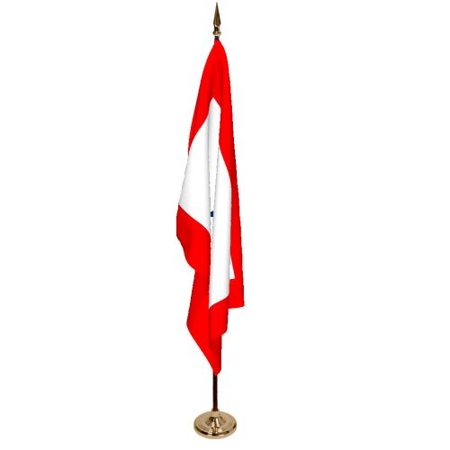 Indoor Service Star Ceremonial Flag Set