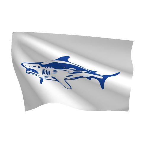 12in x 18in Shark Flag