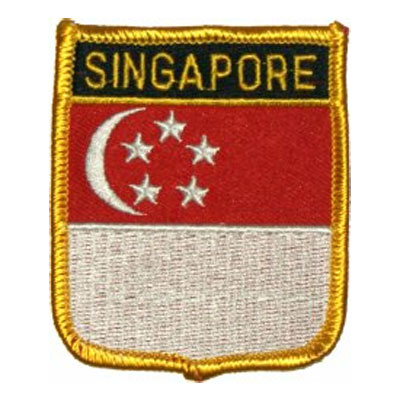 Flag of Singapore Patch