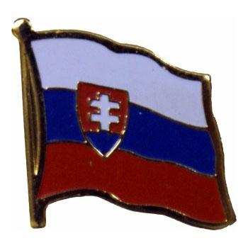 Slovakia Flag Lapel Pin