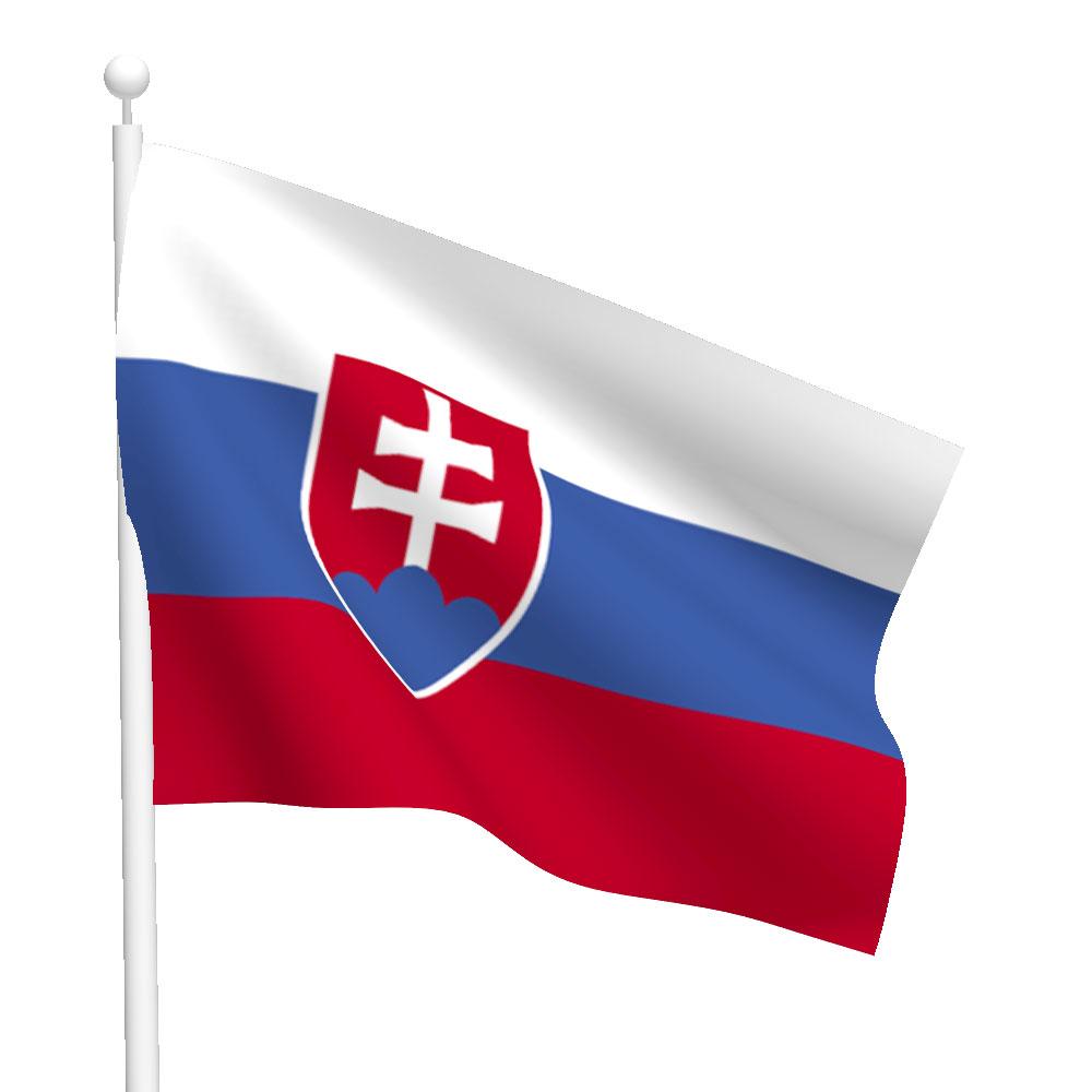 Slovakia Flag Heavy Duty Nylon Flag Flags International