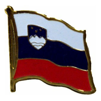 Slovenia Flag Lapel Pin
