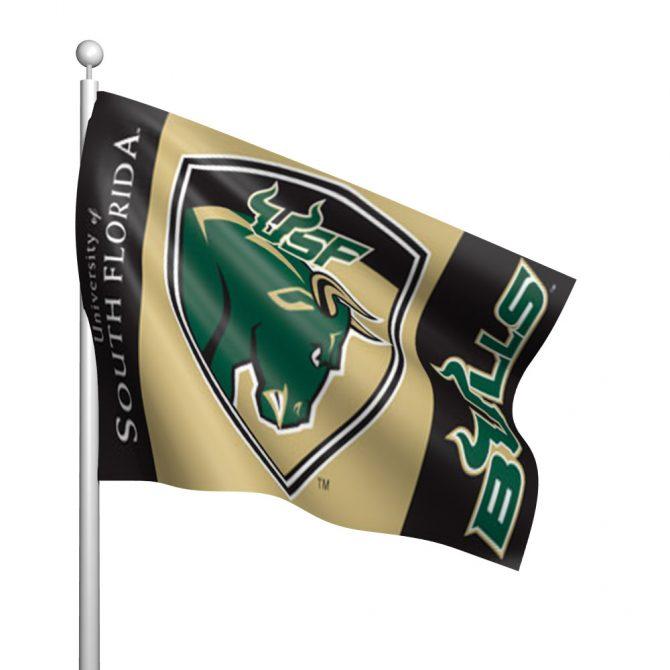 South Florida University Polyester Flag
