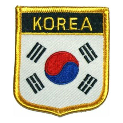 Flag of South Korea Patch