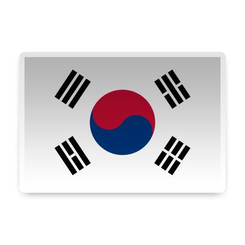 South Korea Sticker