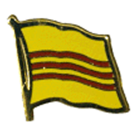 South Vietnam Flag Lapel Pin