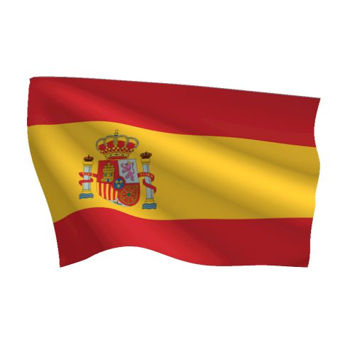 Spain with Seal Flag