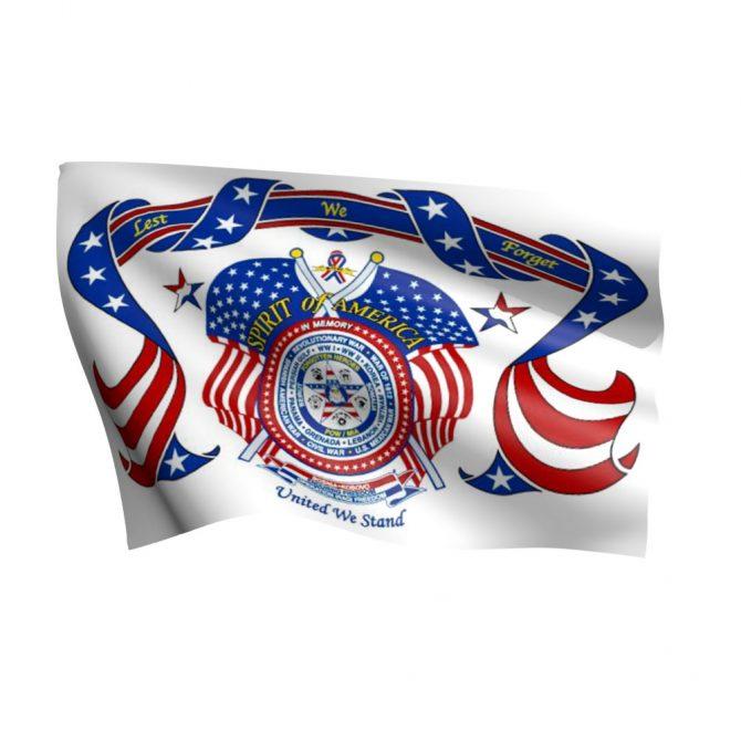 Spirit of America Flag