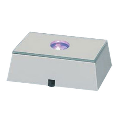 Square Silver Stationary Base