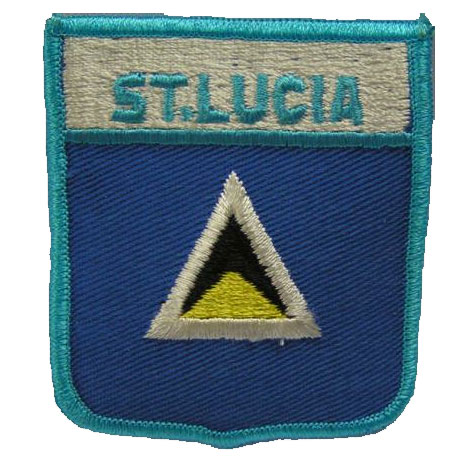 Flag of St. Lucia Patch