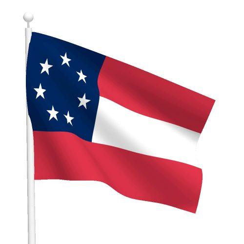 3ft x 5ft Stars and Bars Flag