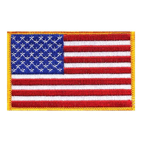 American Flag Left Hand Patch