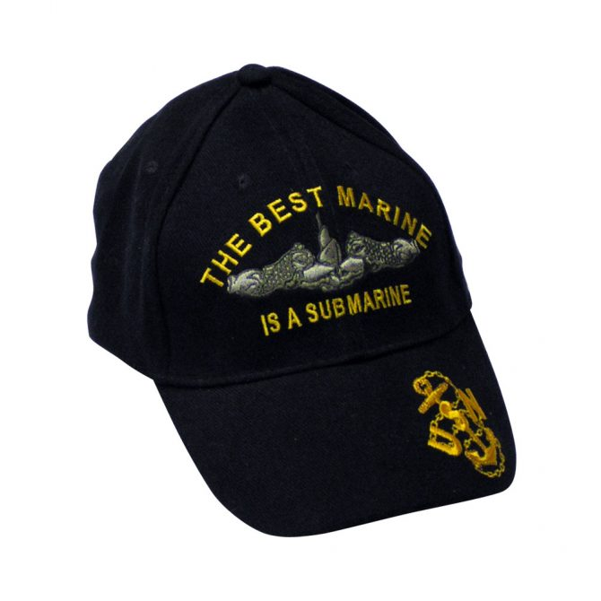 Submarine Embroidered Hat