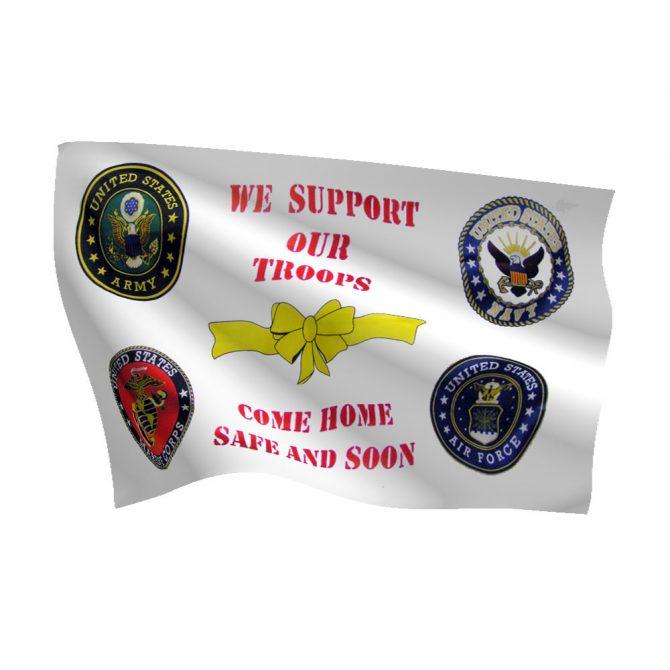 3ft x 5ft Come Home Safe Flag